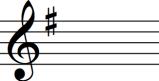 key signature g major