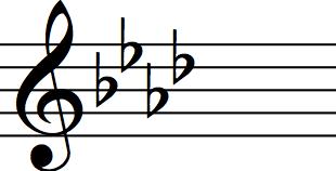 A flat major